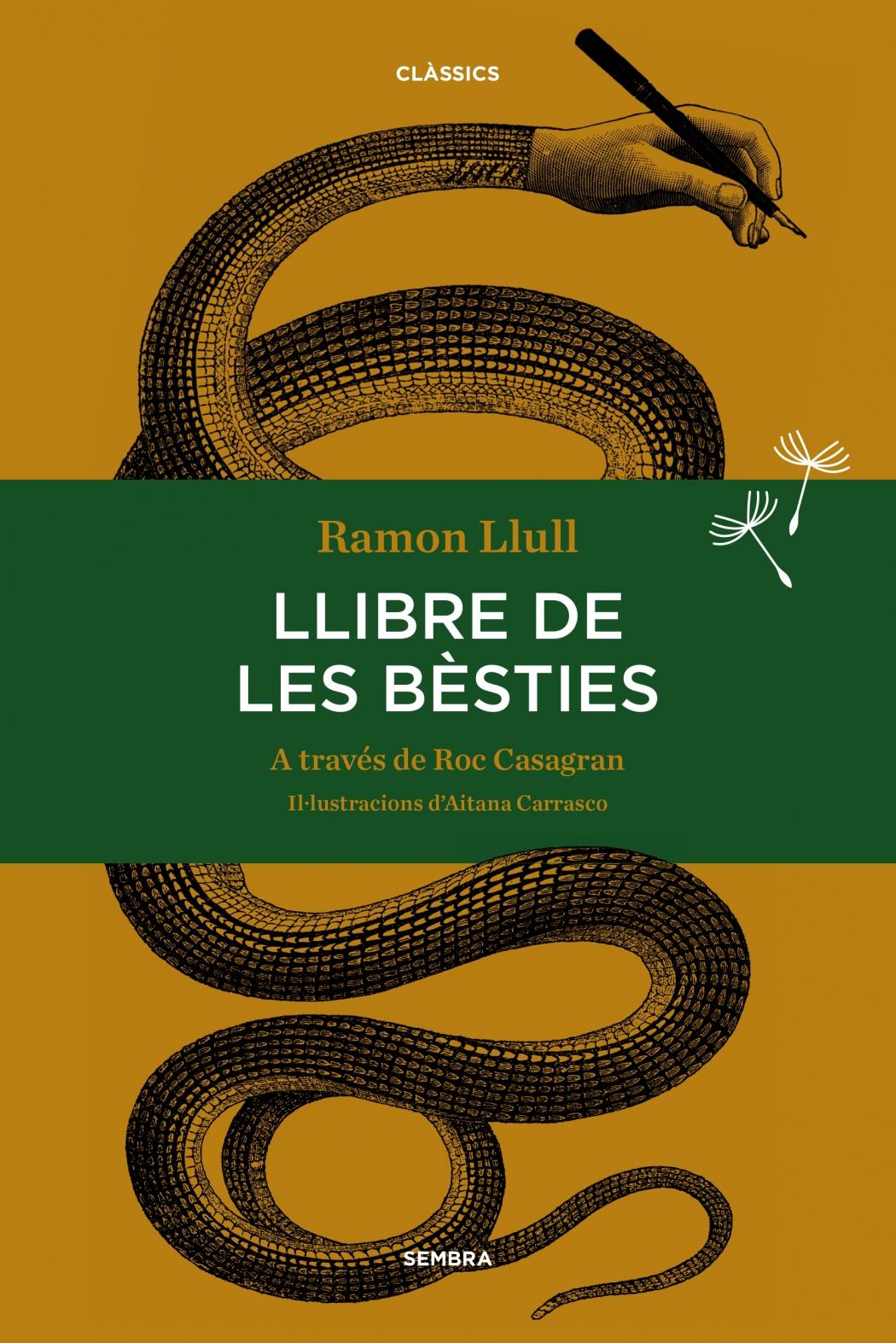 Celebrem l'Any Llull amb l'edició especial i limitada del Llibre de les Bèsties de Ramon Llull a través de Roc Casagran i Aitana Carrasco